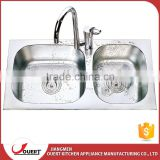 OEM CUPC approval simple style stainless steel kitchen sink inserts