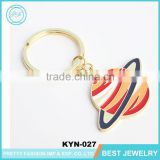 2016 Newest Fashion Enamel Corlorful Earth Shaped Printing Key Chain For Sale