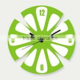 Acrylic Art Contemporary Wall Clocks