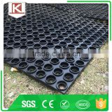 Non grease kitchen and industrial areas green rubber mat manufacture