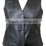 Racing Leather Vest/Leather Motorbike vest/Leather Motorcycle Vest/ Biker Leather Vest/Leather vest/WB-LV-501