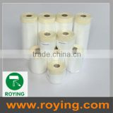 Plastic drop sheet/ dust cover/ pre-taped auto paint masking film