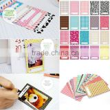 20pcs/SET Polaroid Films Film Photo Stickers Sticker Frame For FujiFilm Instax Mini Instant 8 7S 25 50S
