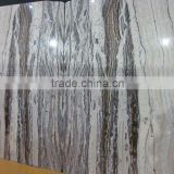 natural wooden onyx black travertine slab