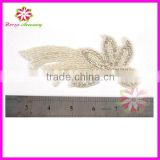 Wholesale bridal crystal embellishments rhinestone appliques for wedding dresses