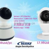 Big promotion for Christmas gift home baby monitor,mini 1.0mp low price for sale baby monitor wireless home ip camera