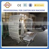 JGB-06025dong guang semi automatic corrugated card board carton box bundling and packing machine