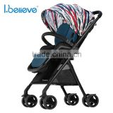 Exquisite Stroller factory wholesale aluminum frame color changeable baby jogger