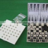 Travel with Magnetic Aluminum Chess Games