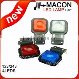 Hot Sale LED Trailer Light truck tail lamp waterproof rear combination tail lamp for trailer