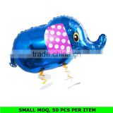 Various Colors Elephant Shaped Walking Pet Balloons Wholesale
