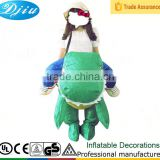 DJ-CO-112 Halloween Christmas Cosplay Inflatable Dinosaur Costume Party Fancy Dress unisex crops new