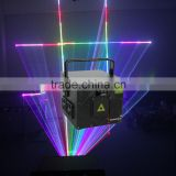 high-power 2W full color indoor disco laser effect light/dj stage lighting Projector show