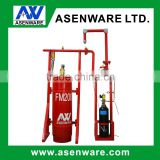 N2 driving pipe network type fire suppression systems fm200