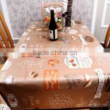 2015 new design table cover, table cloth fabric, table cloth design, table cloth factory