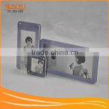 Family Souvenir Crystal Acrylic Photo Frame Magnetic Photo Block / Plexiglass Picture Frame