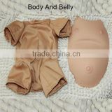 20-22inch Soft Vinyl Reborn baby doll belly and body