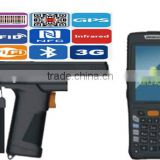 2015 newly handheld laser barcode scanner UHF pda terminal pda with mobile built-in printer