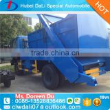 China 4X2 8 m3 Hydraulic lifter container garbage truck Hydraulic swinging arm garbage truck for sale
