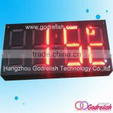 Plastic 2014 outdoor full colorfull color led display xxx movie piggy bank with coin counter
