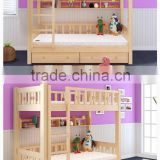 2016 hot portable pine wood folded bed cot wooden baby bed , baby                                                                         Quality Choice