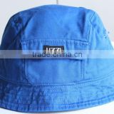 Adults Age Group And Striped Style Pocket Bucket Hats