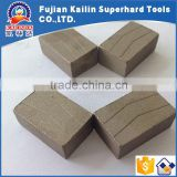 Factory Outlet Gang Saw segment for cutting Artificial Stone synthetic diamond segment for cutting tools