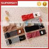 A-265 chidren boot socks leg warmers cute cotton baby fox socks kids knee high fox socks