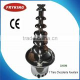 wholesale cheap professional chocolate fountain with good quality hotel kitchen equipment