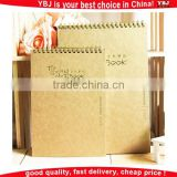 OEM custom kraft paper notebook kraft paper blank notebook brown paper notebook