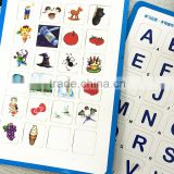 Educational Baby Magnetic Toys / Magnetic Sticker Puzzle Words