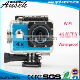 720p 120 fps 2.0 inch sensor 16 Mp wifi waterproof wireless hidden 4k ultra hd action camera