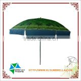 Fashion clear printing wholesale beach umbrella in China