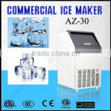 AZ-30 Coffee ,drinking using daily 30kg per day Cube MINI Ice maker
