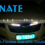 New Hot Selling Wholesale Best Quality Car Accessories Soft Light Bar DRL Headlight 12V Led