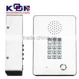 Stainless Steel Elevator Phone KNZD-03 Clearnroom Telephone From Koontech industrial telephone