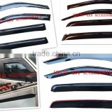 Unity Hot Customization Size OEM car accessories 4x4 door visor for Toyota /Mitsubishi/jeep