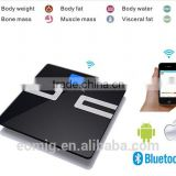 Bluetooth Eletronic Body Fat Analyzing Digital Weighing Scale