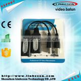 High quality Single Channel video audio 1CH passive video balun