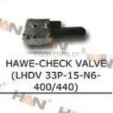 HAWE -check valve LHDV 33P-15-L8-400 440 hydraulic rexroth solenoid valve for putzmeister concrete pump spare parts