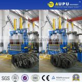Aupu Y82-100LT factory direct sale hydraulic baler press for scrap car tire CE certification