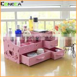 Wholesale cheap waterproof funny decoration bathroom set eco-friendly engraved ceramic storage boxes