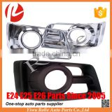 Caravan Urvan E25 spare auto parts chrome black accessories fog lamp light cover case frame