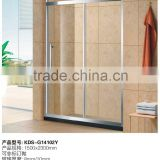 2015 wholesale high-end Modern simple shower rooms KDS-PS14102 burst 304 stainless steel simple shower room