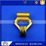 Strong Heavy Duty Metal Double J woven belt Hooks For Crane From China Factory With 5000kg Durability