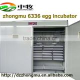Factory Price commercial poultry incubator 6336 eggs micro-computer Fully automatic incubator