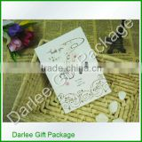 scented paper card/ blank paper card/ foldable paper card