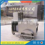 tricycle mobile food transport cart bike food cart car kitchen hot dog van, kiosk