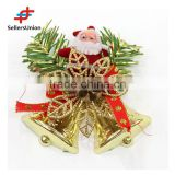 No.1 yiwu exporting commission agent wanted novelty cheap flower ornament christmas bells