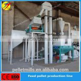 poultry chicken animal feed processing line, feed making/manufacturing line, feed plant with capacity 1t-2tph